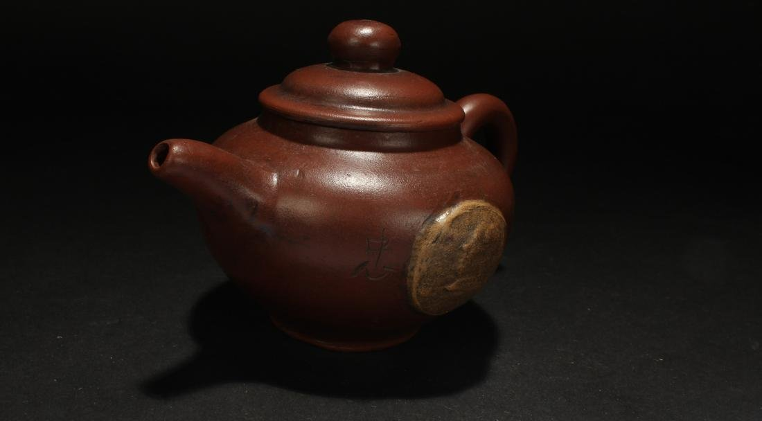 A Chinese General-icon Tea Pot - 2