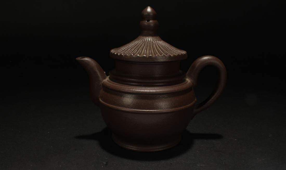 A Chinese Censer-fortune Estate Tea Pot