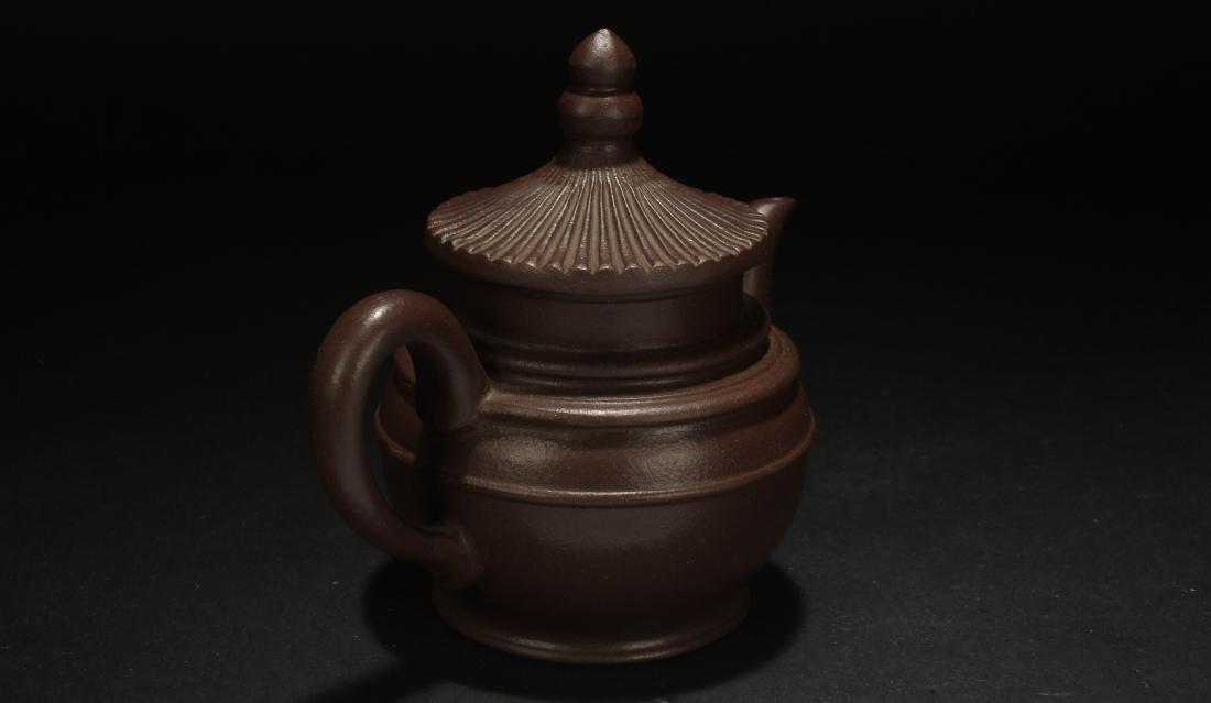 A Chinese Censer-fortune Estate Tea Pot - 4