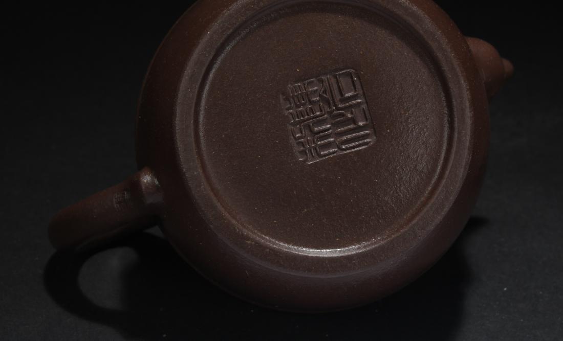 A Chinese Censer-fortune Estate Tea Pot - 6