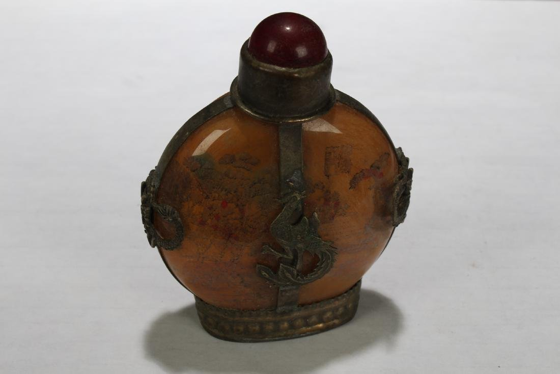 An Estate Chinese Snuff Bottle Display