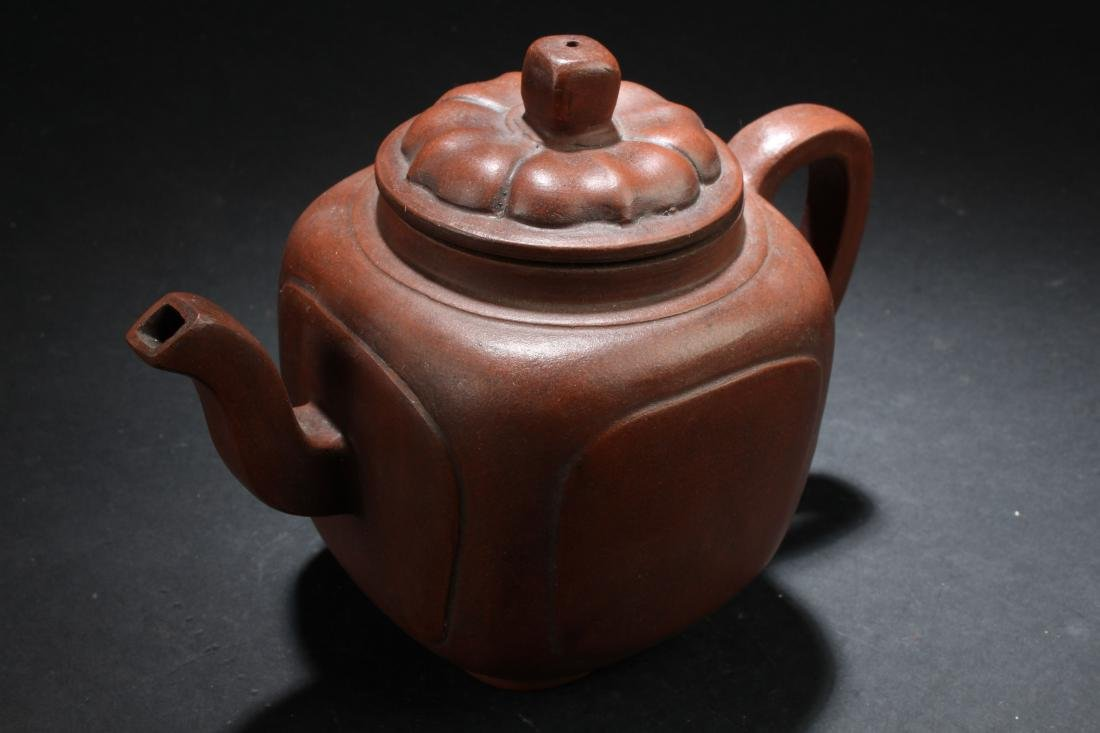An Estate Chinese Plain-fortune Tea Pot Display