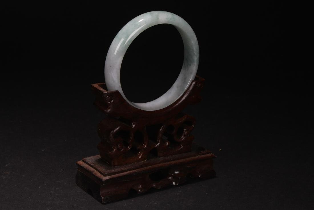 An Estate Chinese Jade Bangle