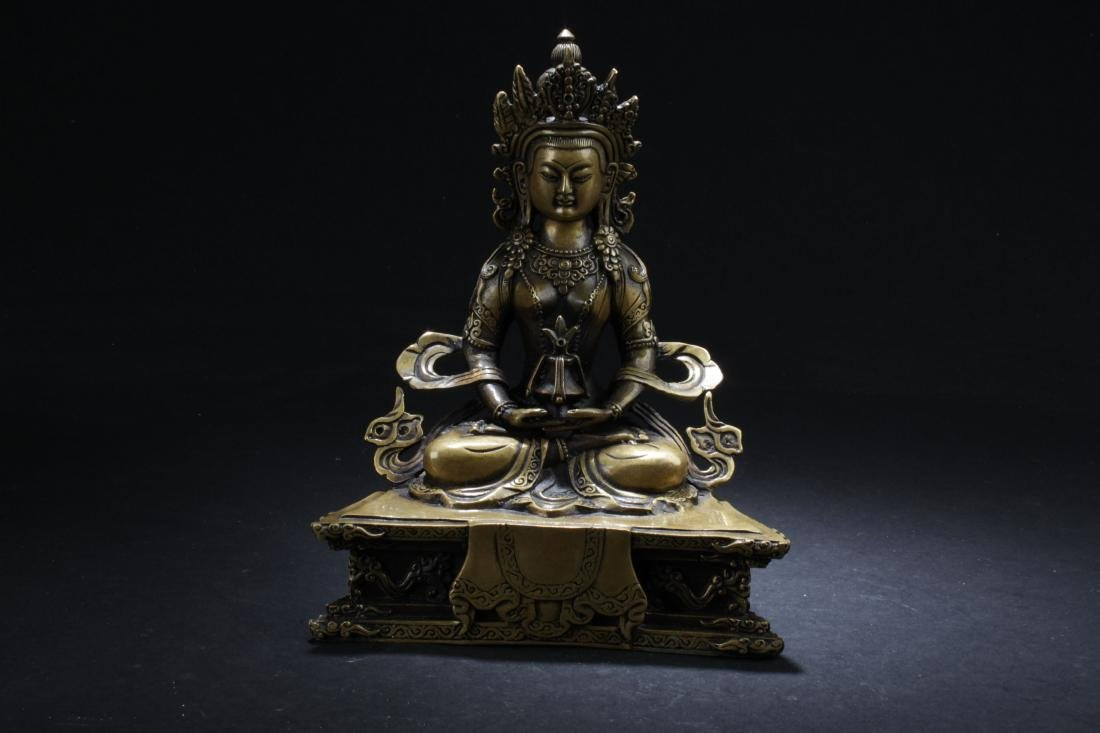 An Estate Chinese Religious Buddha Statue