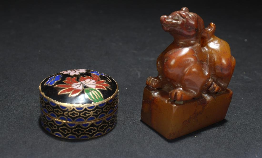 Two Chinese Religious Items
