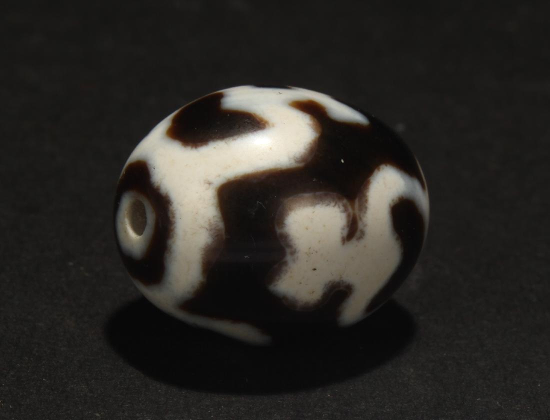 A Circular Estate Tibetan Bead Display
