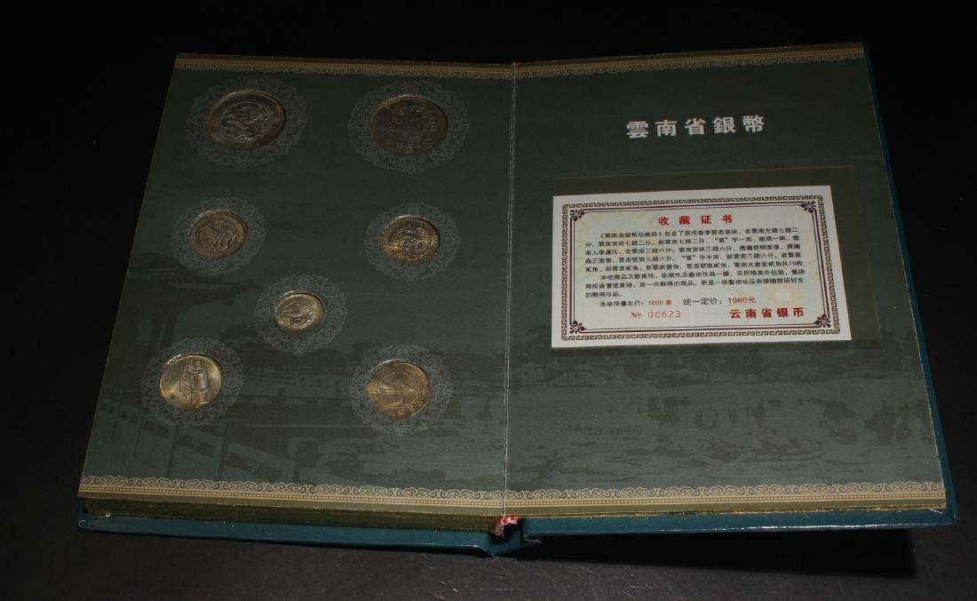 An Estate Chinese Coin Book Display - 5