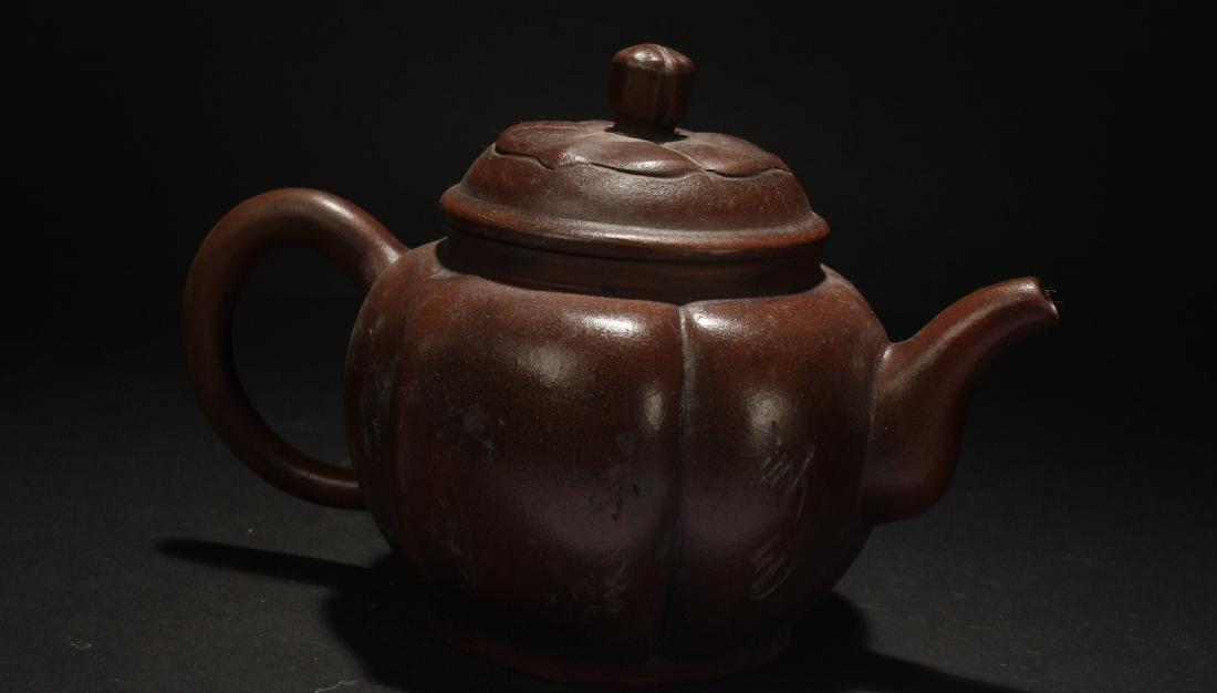 An Estate Chinese Lidded Tea Pot