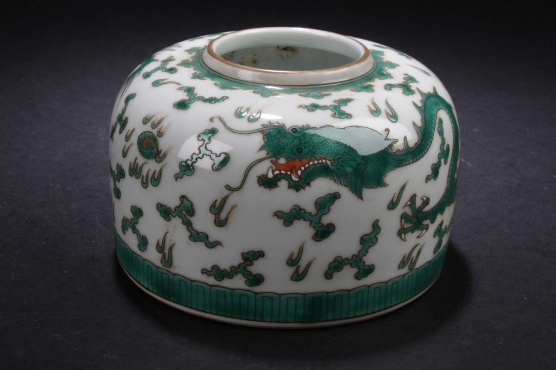 A Chinese Dragon-decorating Estate Porcelain Cup