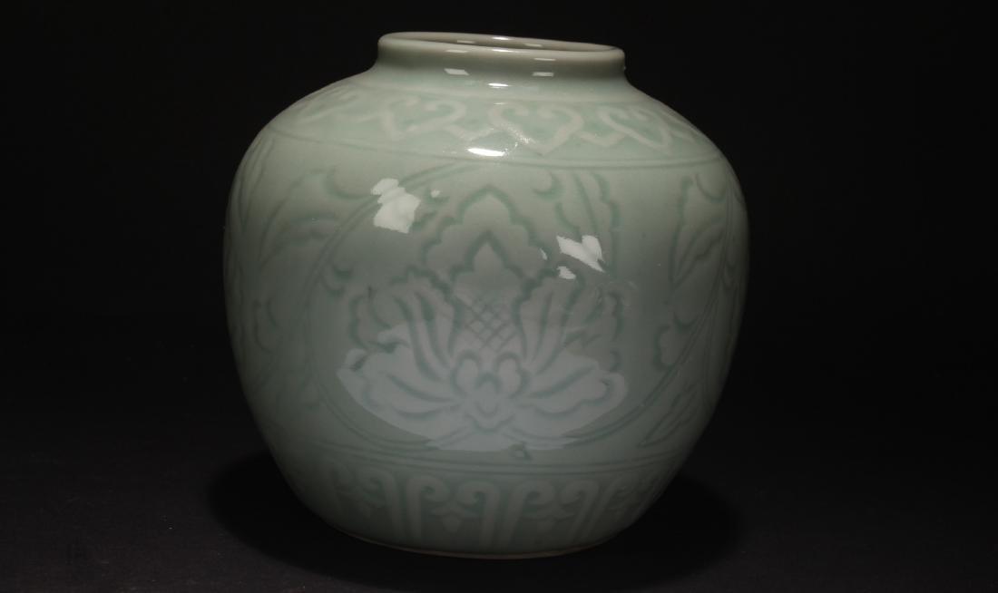 An Estate Chinese Longquan Porcelain Jar