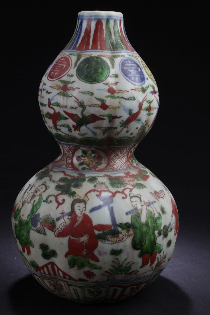 A Story-telling Long-life Fortune Chinese Calabash