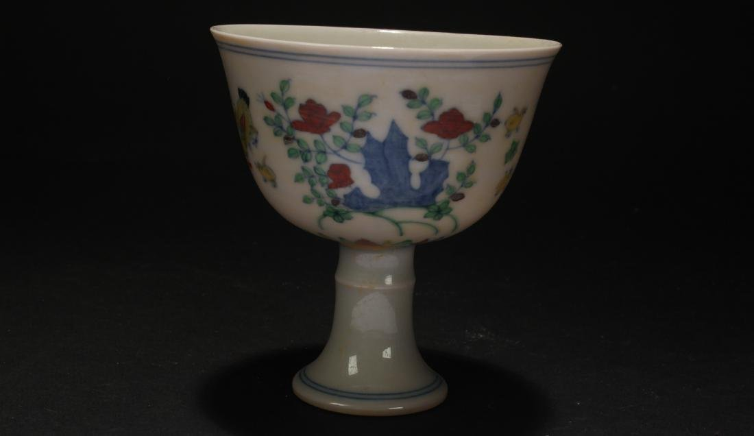 An Estate Chinese Porcelain Cup - 3
