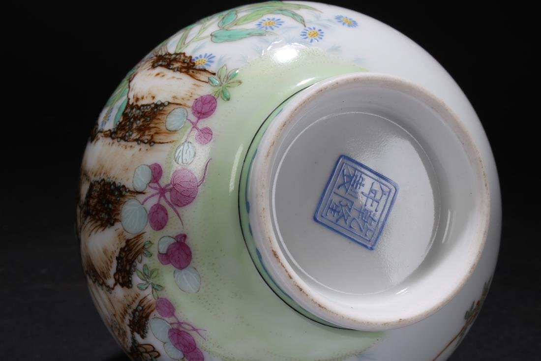 An Estate Collection-sealed Spring-fortune Porcelain - 8