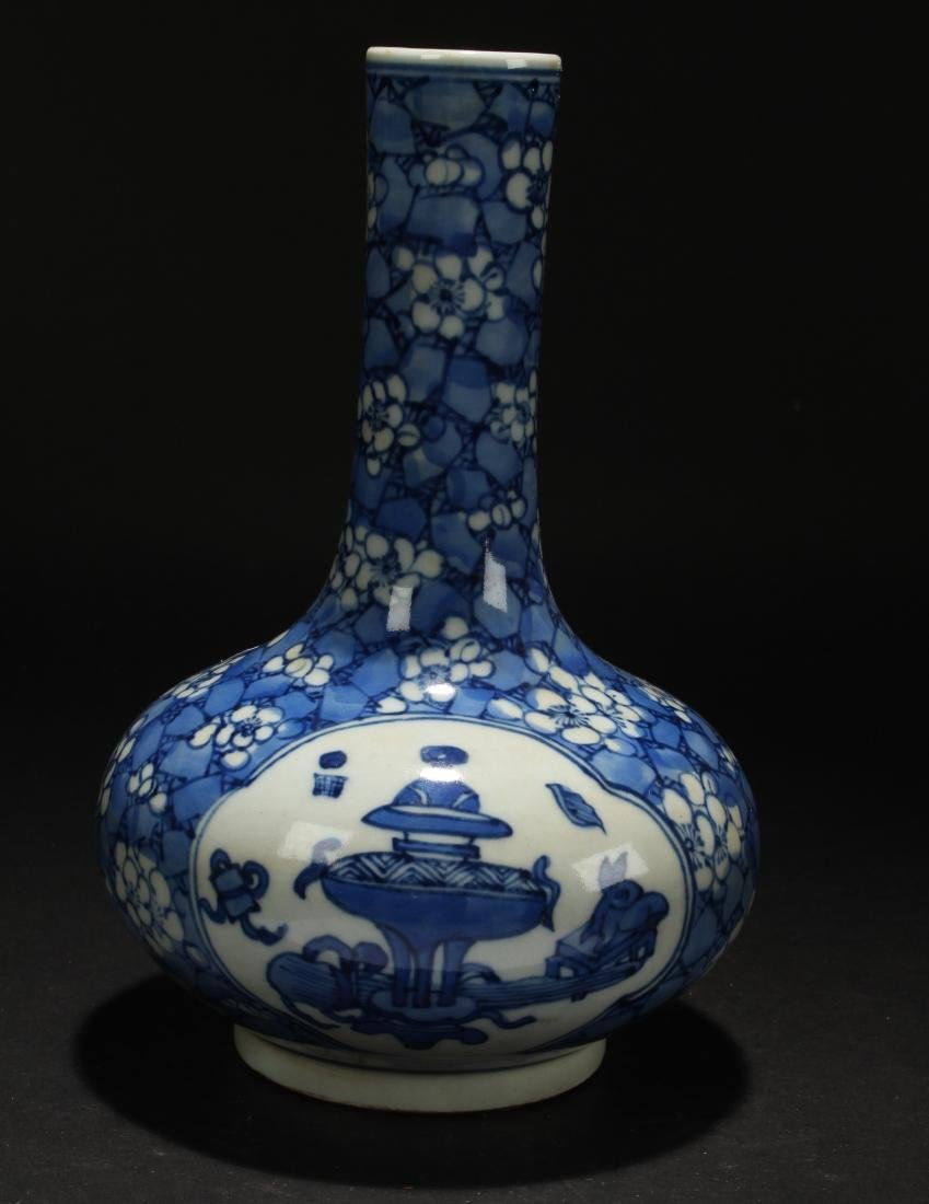 A Chinese Religious Estate Blue and White Porcelain