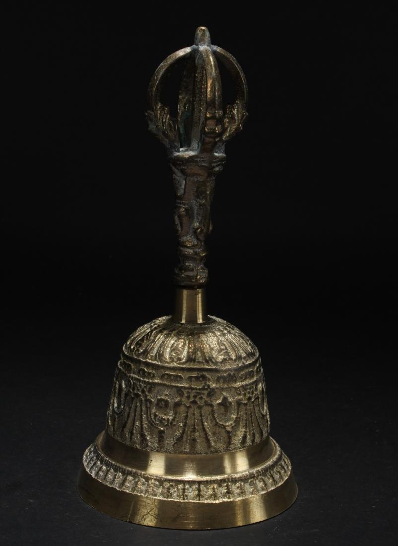 An Estate Tibetan Display Bell
