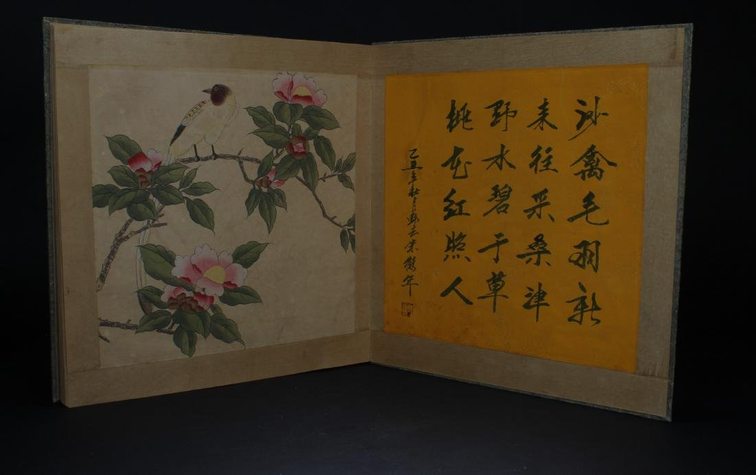 An Estate Chinese Painting Book Display - 2