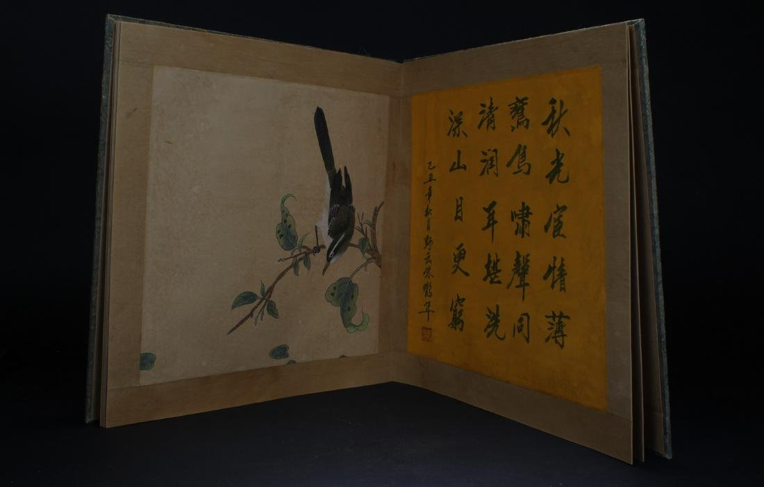 An Estate Chinese Painting Book Display - 4
