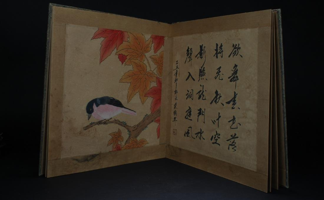 An Estate Chinese Painting Book Display - 5