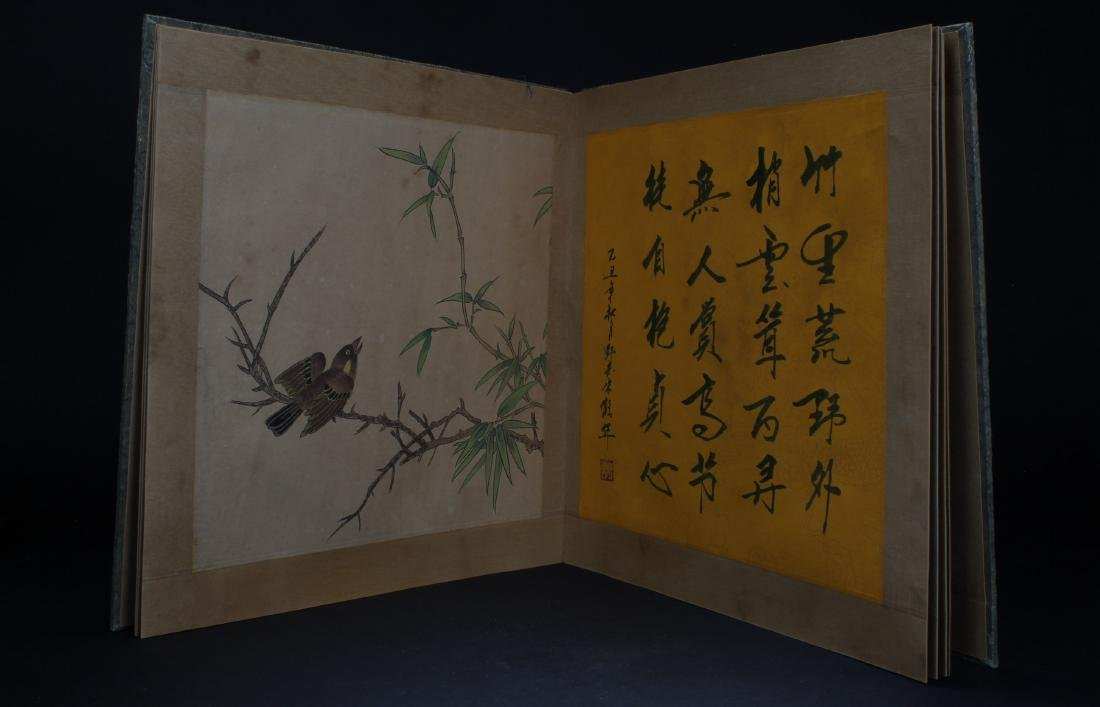 An Estate Chinese Painting Book Display - 6