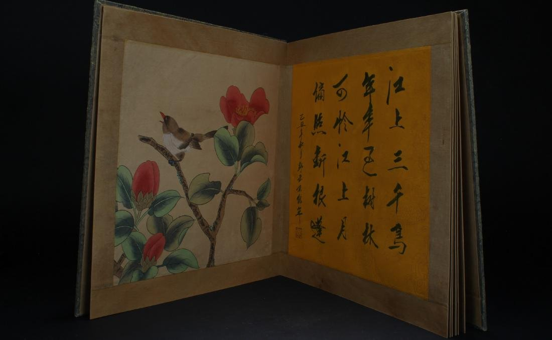 An Estate Chinese Painting Book Display - 8