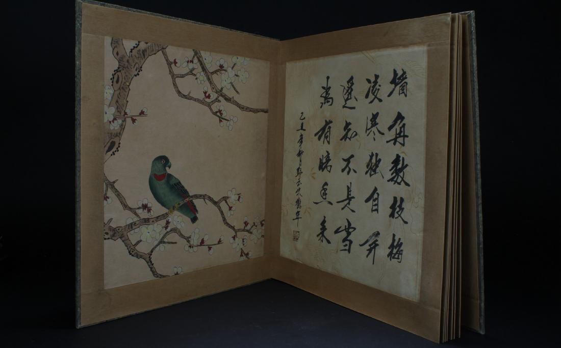An Estate Chinese Painting Book Display - 9