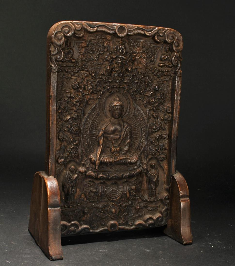 An Estate Chinese Religious Buddha Display