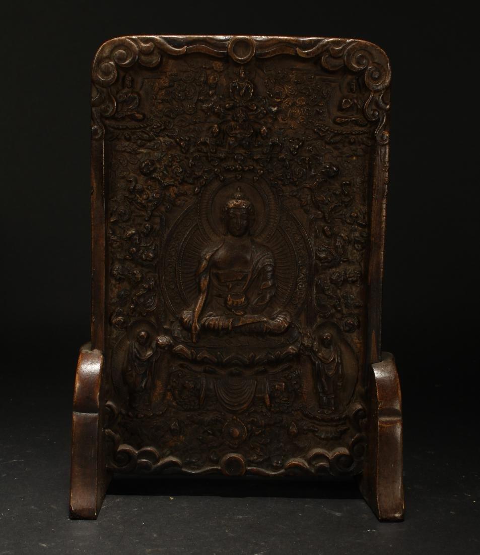 An Estate Chinese Religious Buddha Display - 2