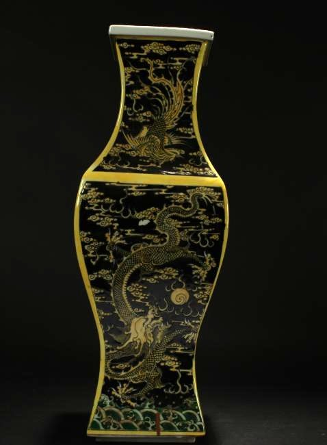 A Chinese Anicent-framing Estate Dragon-decorating - 3