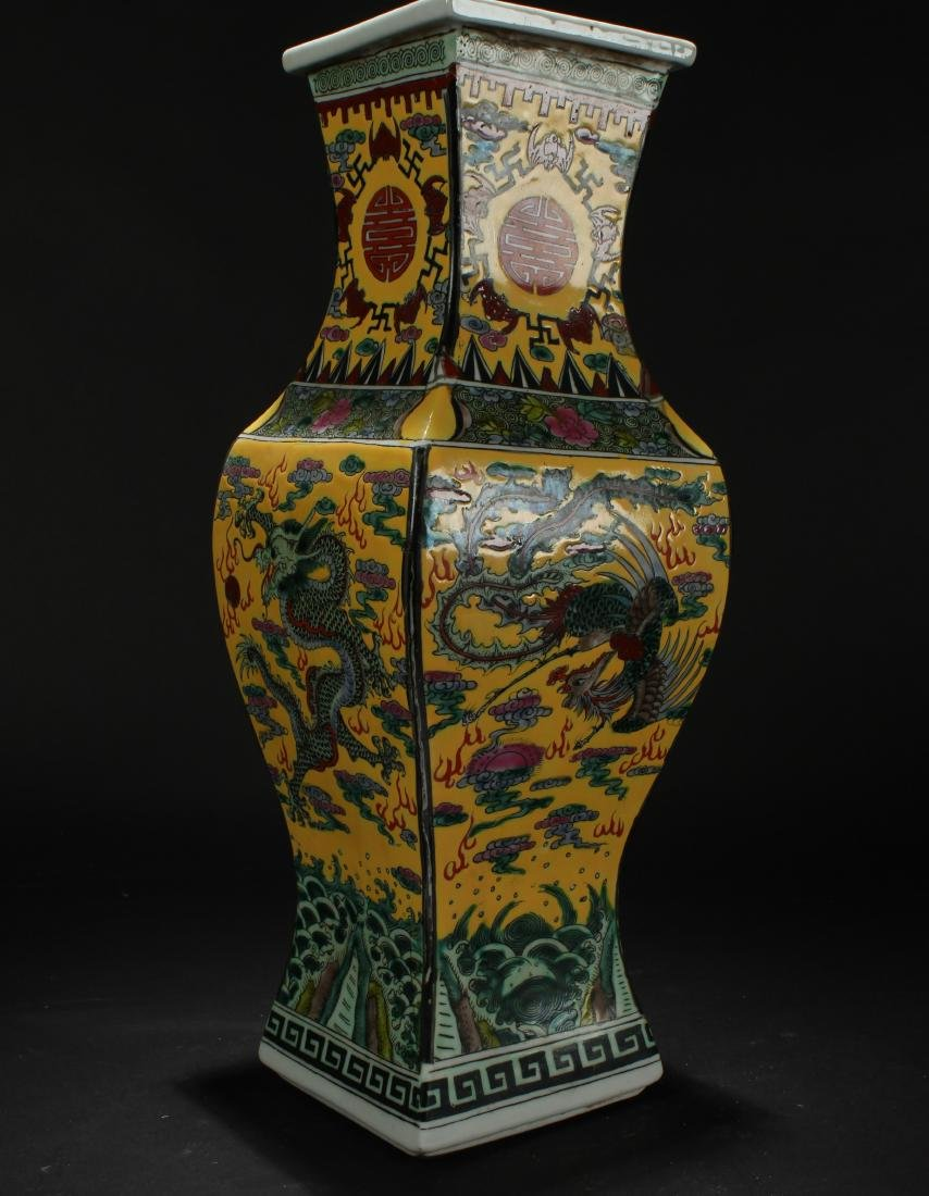 A Chinese Dragon-decorating Longlife-Fortune Porcelain - 2