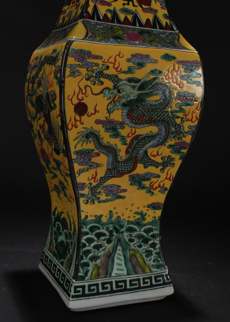 A Chinese Dragon-decorating Longlife-Fortune Porcelain - 3