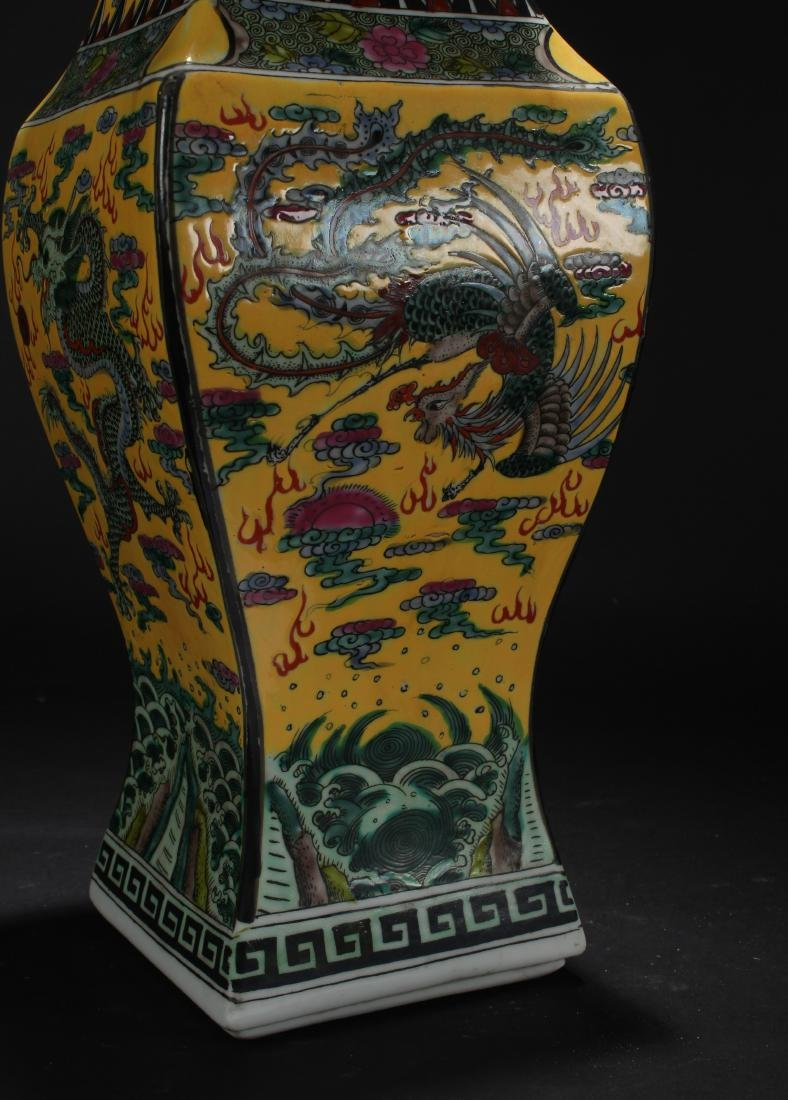 A Chinese Dragon-decorating Longlife-Fortune Porcelain - 4