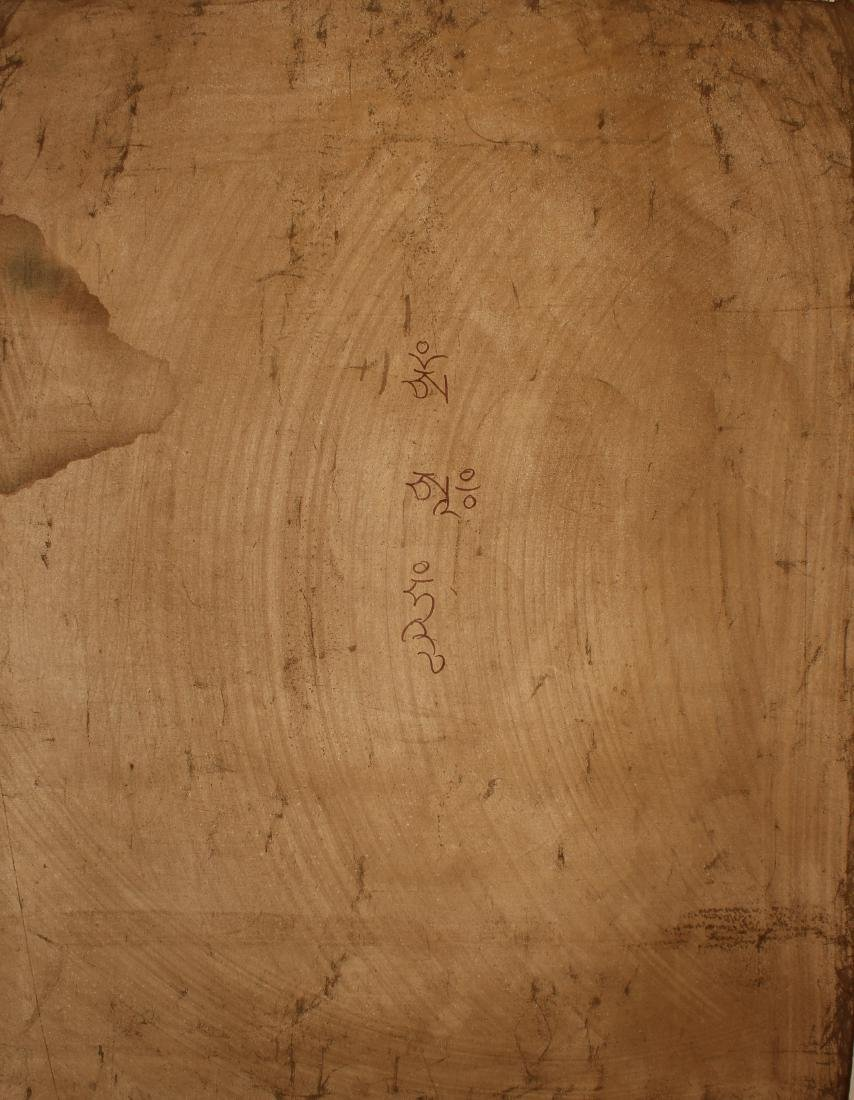 A Tibetan Religious Buddha-fortune Display Thangka - 7