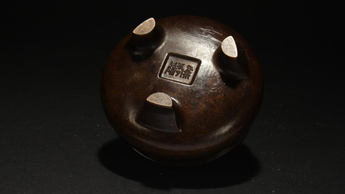 An Estate Chinese Fortune Censer - 3