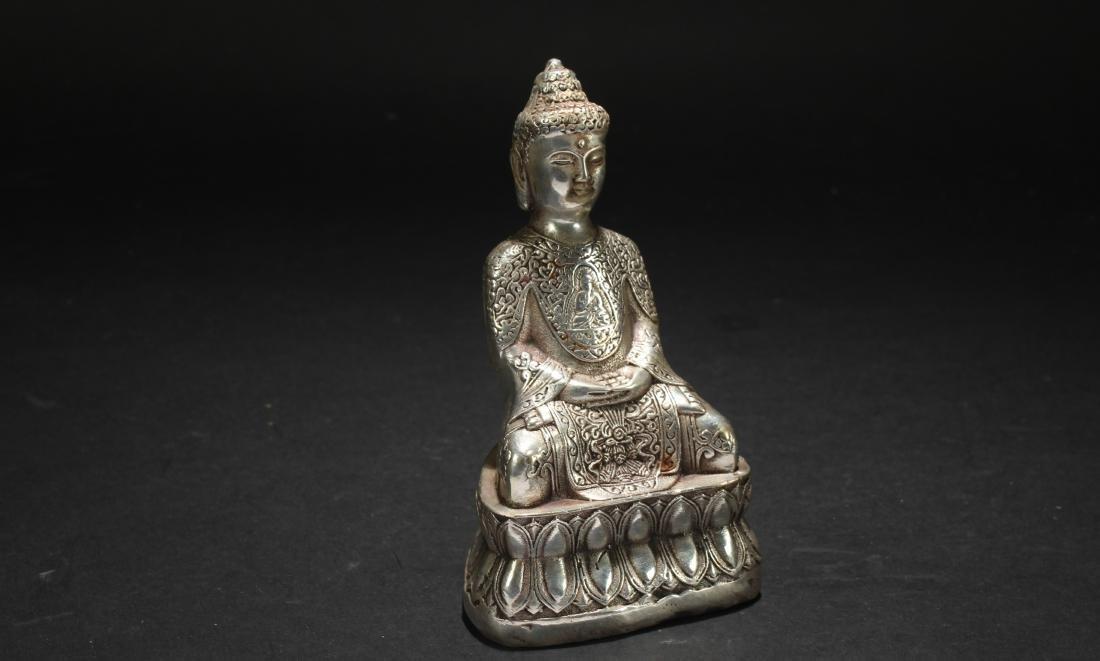 An Estate Religious Buddha Statue