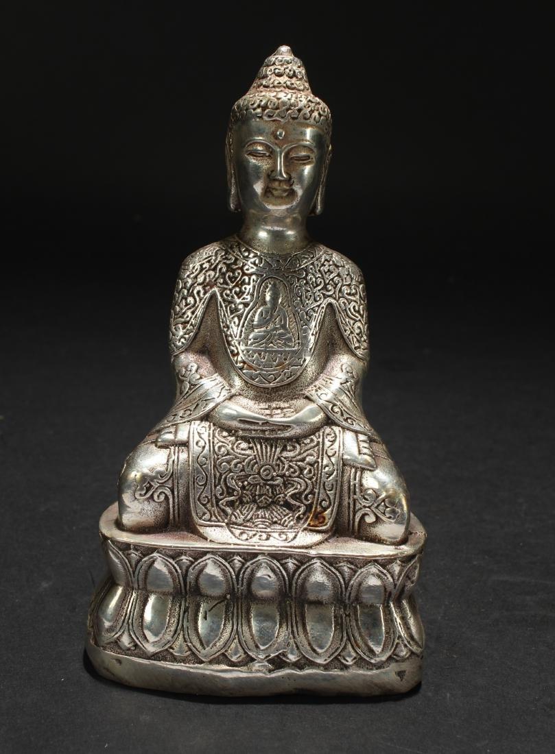 An Estate Religious Buddha Statue - 2