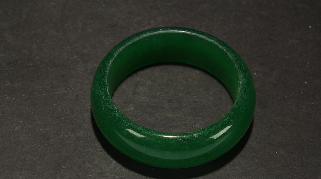 An Estate Chinese Bracelet Display
