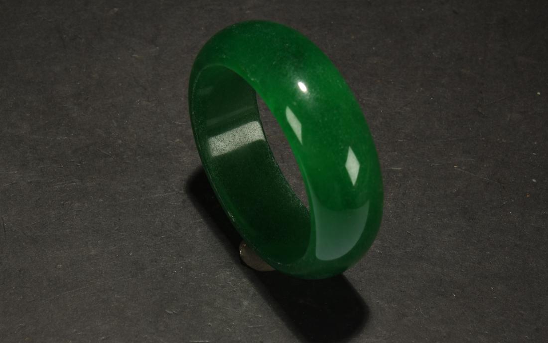 An Estate Chinese Bracelet Display - 2