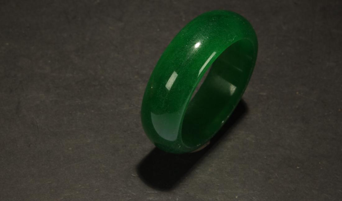 An Estate Chinese Bracelet Display - 3
