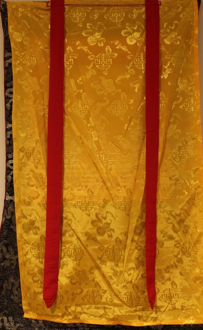 An Estate Tibetan Religious Thangka Display - 4