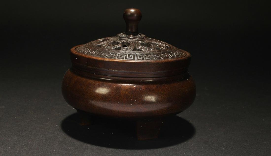 An Estate Chinese Fortune Censer