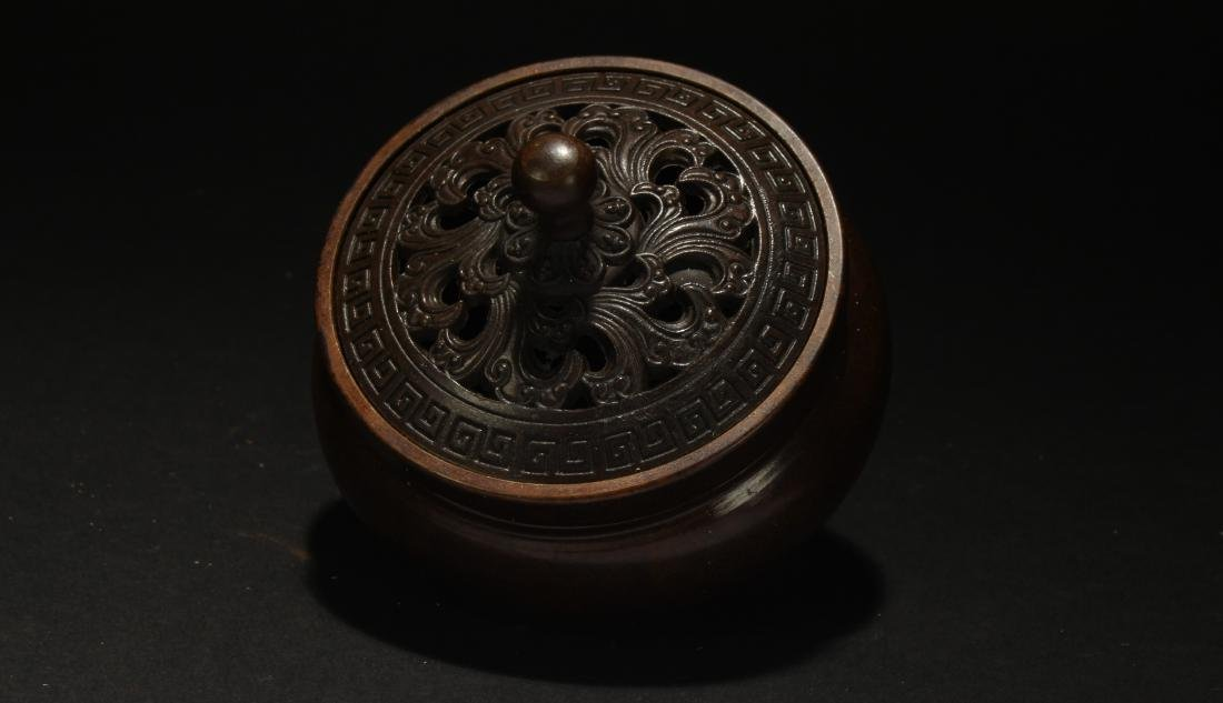 An Estate Chinese Fortune Censer - 2