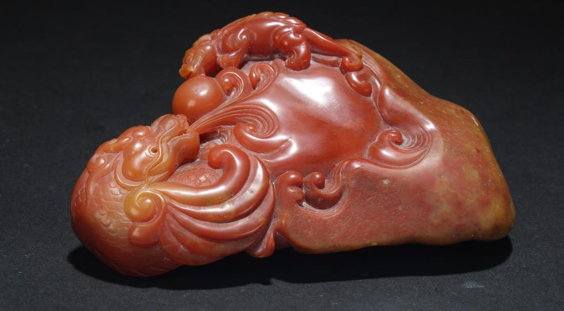 A Chinese Estate Soapstone Display Figure - 8