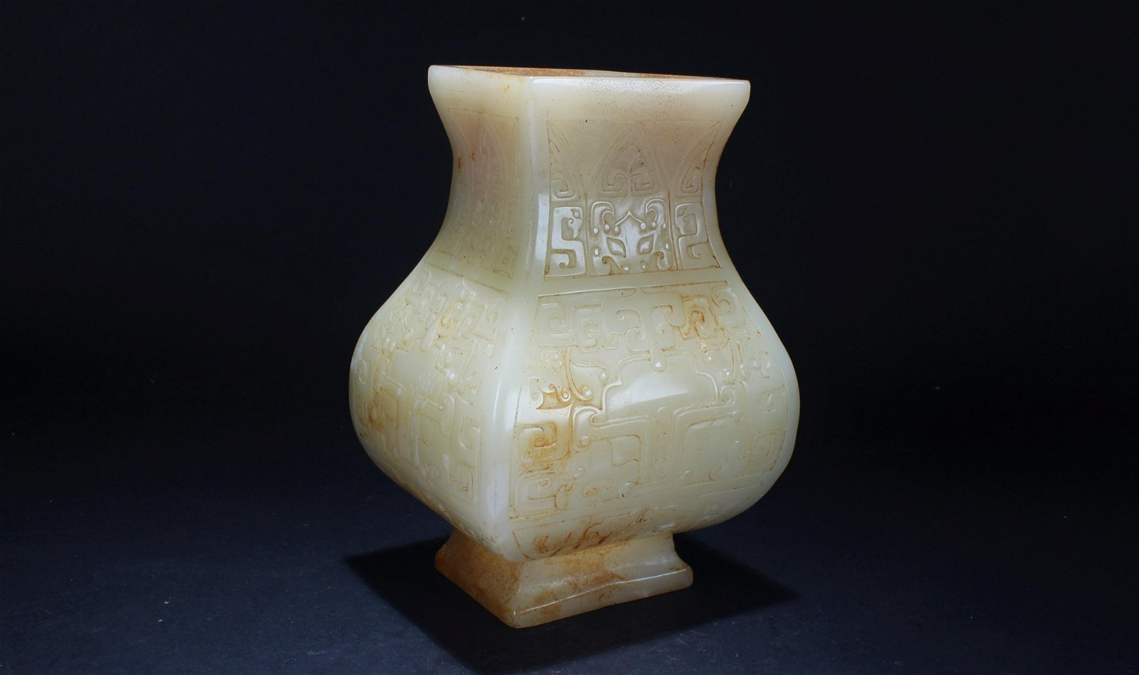 An Estate Ancient-framing Chinese Fortune Display Vase