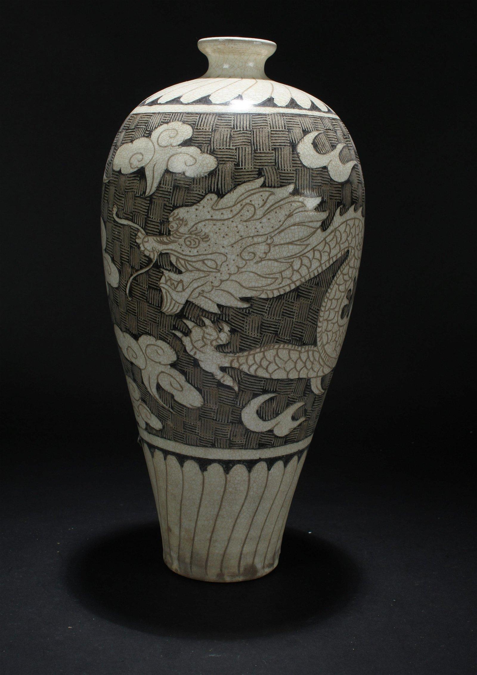A Chinese Estate Ancient-framing Dragon-decorating