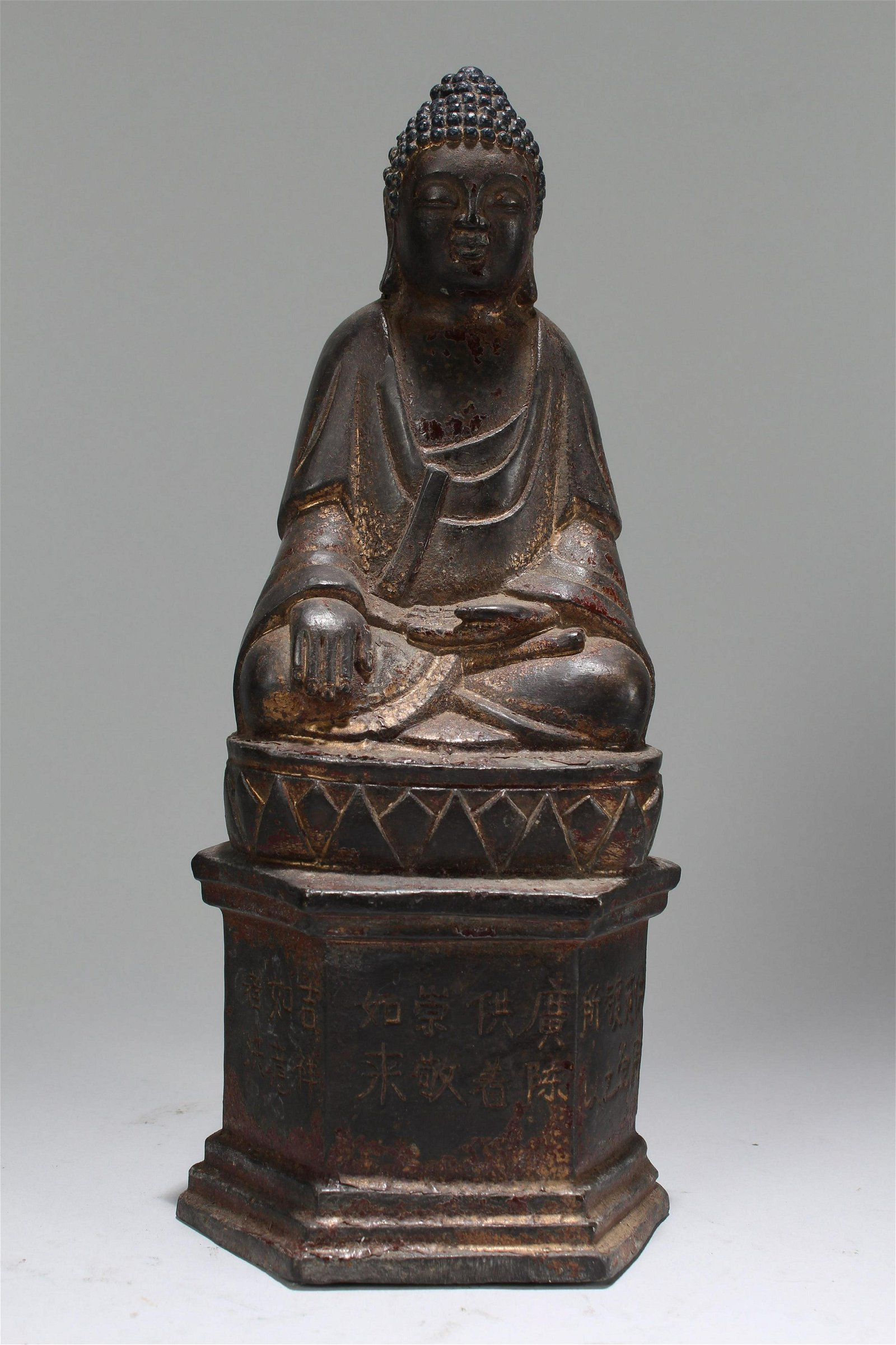 An Estate Chinese Fortune Religious Statue