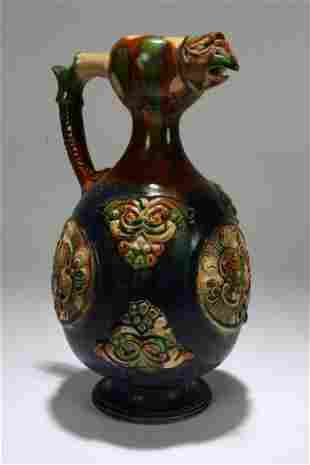 A Chinese Ancient-framing Pottery Vase