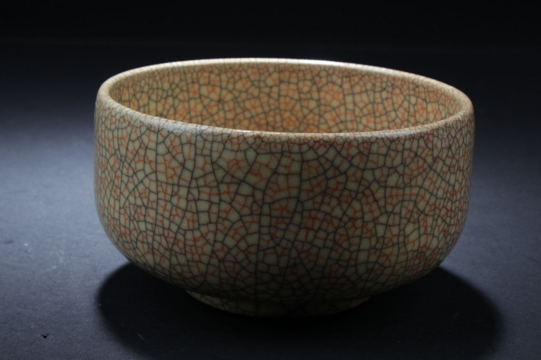 A Cracked Style Chinese Porcelain Bowl