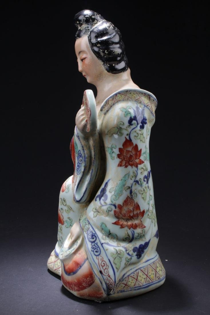 An Estate Chinese Porcelain Buddha Statue