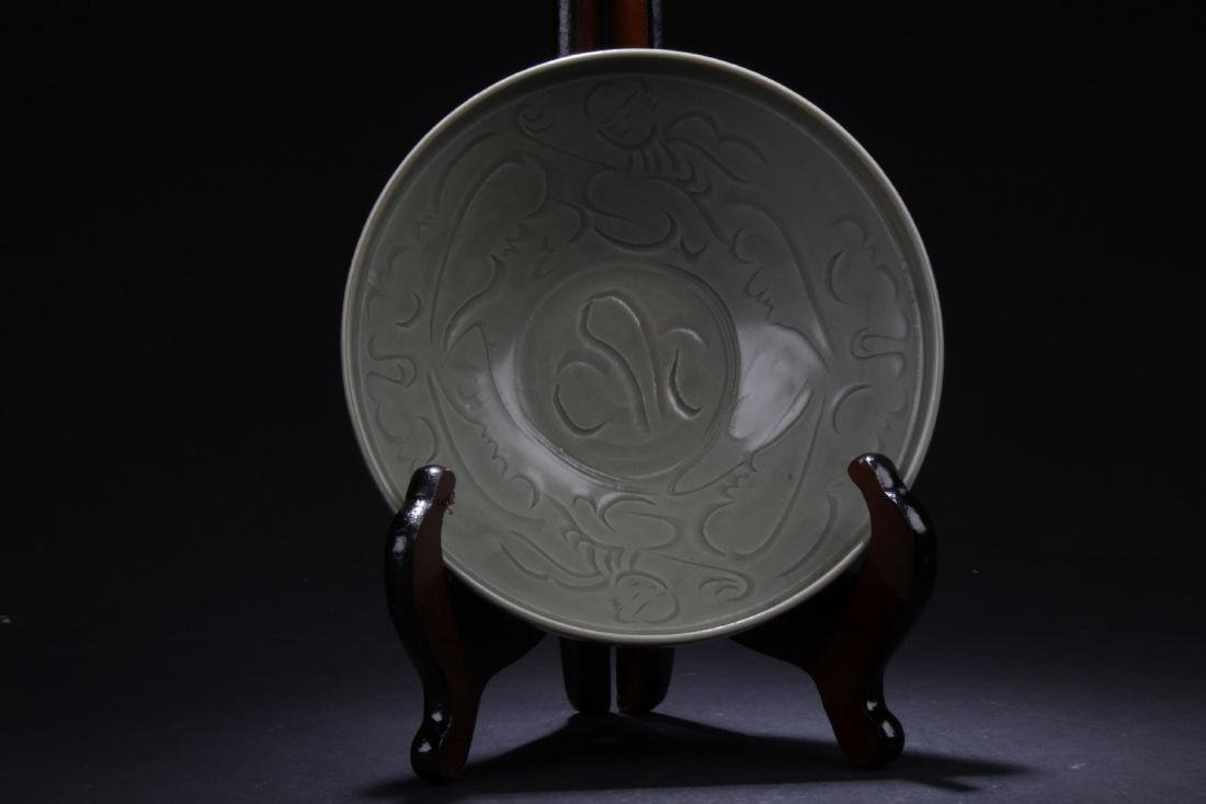 An Estate Ancient-framing Porcelain Plate