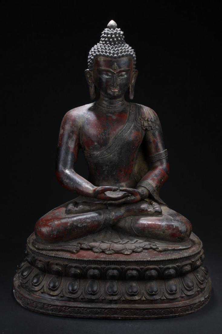 A Massive Chinese Buddha Statue